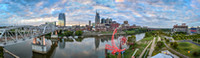 Nashville TN Skyline Panorama