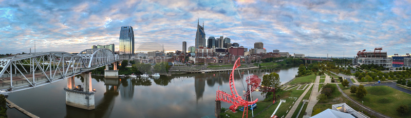 Skyline of Nashville KERRY WOO hi res