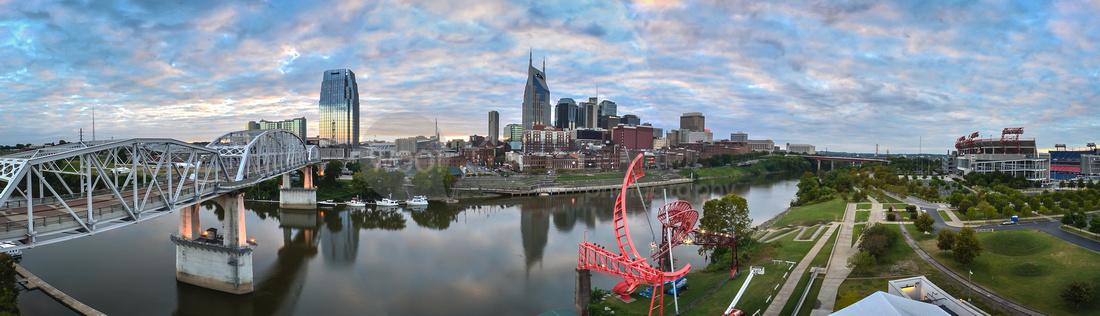 Skyline of Nashville KERRY WOO hi res