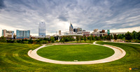 Nashville Skyline at Cumberland Park