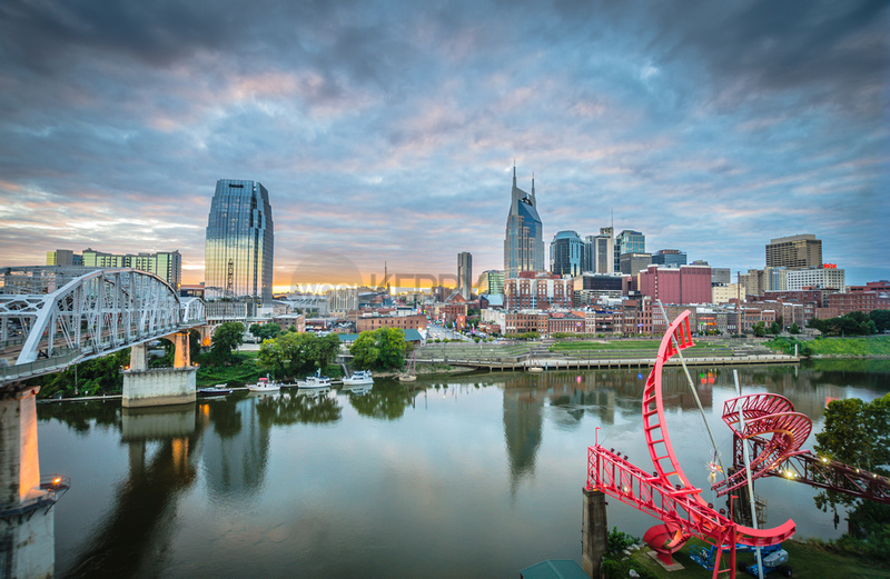 Skyline of Nashville KERRY WOO hi res cropped
