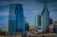 East View of Downtown Nashville TN Kerry Woo