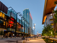 Music City Center Omni Hotel Evening